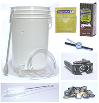 Soda Making Equipment Package (item #8500)