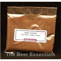 Wine tannin powder 1 oz.