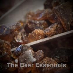 Rock candy, amber - 1 lb.