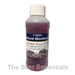 Natural Fruit Concentrates Blackberry - 4 oz.