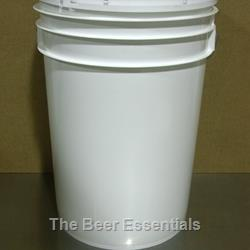 Bucket - 6 gallon with lid, plain