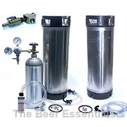 Two 5 Gallon Deluxe Kegging System